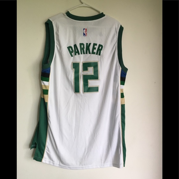 new style f9518 71d66 Men's Jabari Parker Bucks Jersey